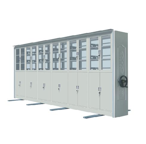 XY-AB07型手动型实物密集柜